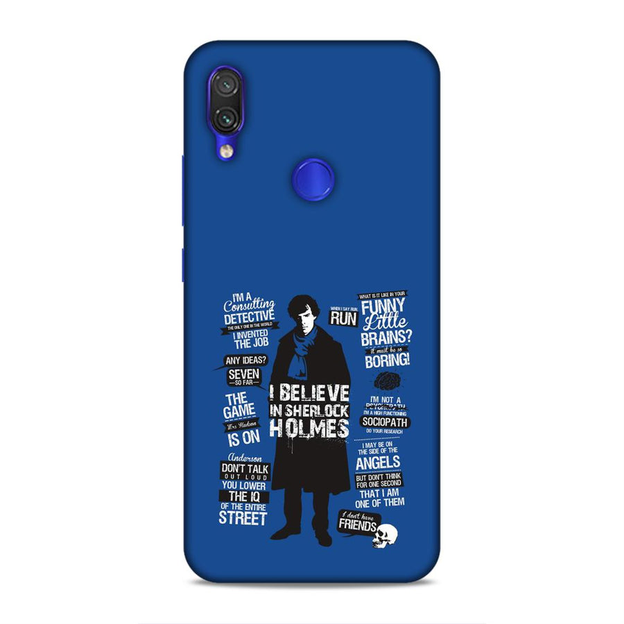 Sherlock Holmes Redmi Note 7 Pro Mobile Back Cover nx467