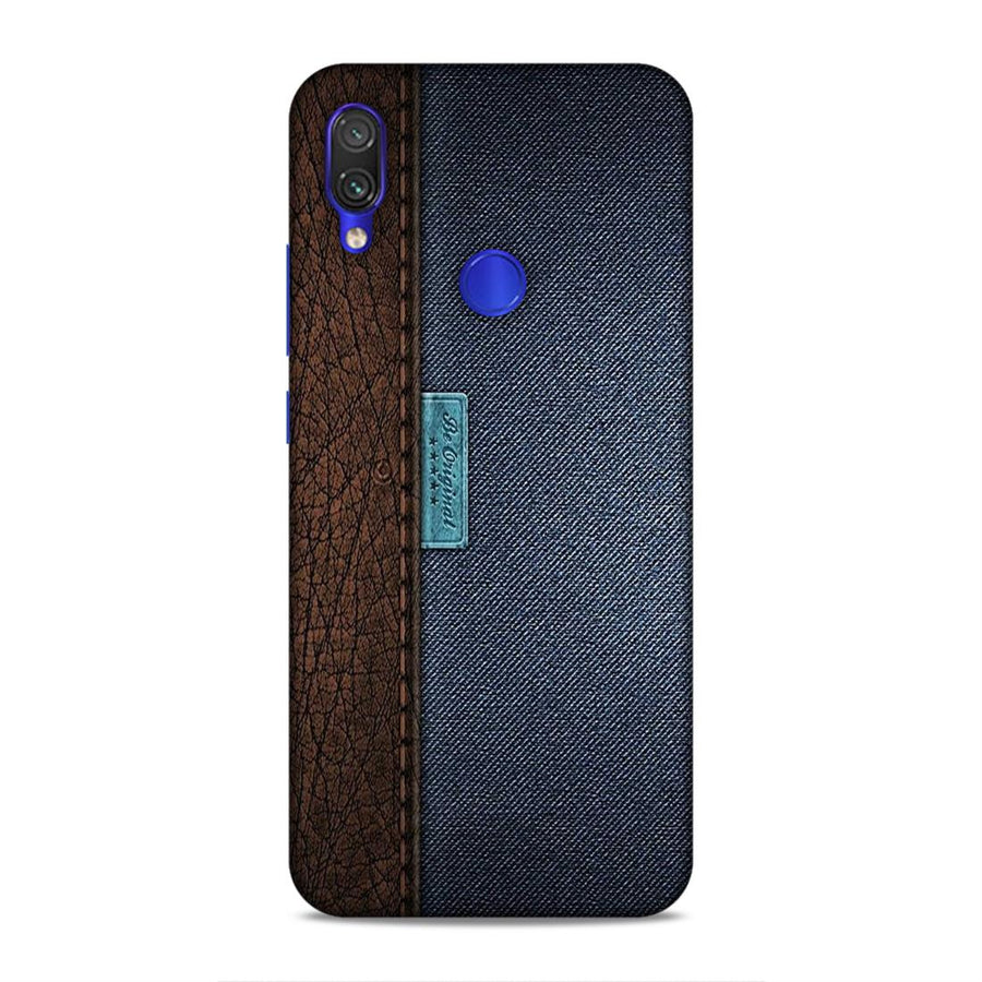Texture  Redmi Note 7 Pro Mobile Back Cover nx560