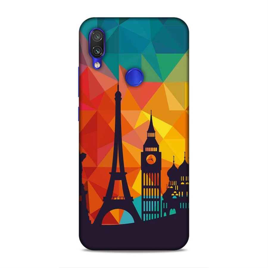 Skylines Redmi Note 7 Pro Mobile Back Cover nx656