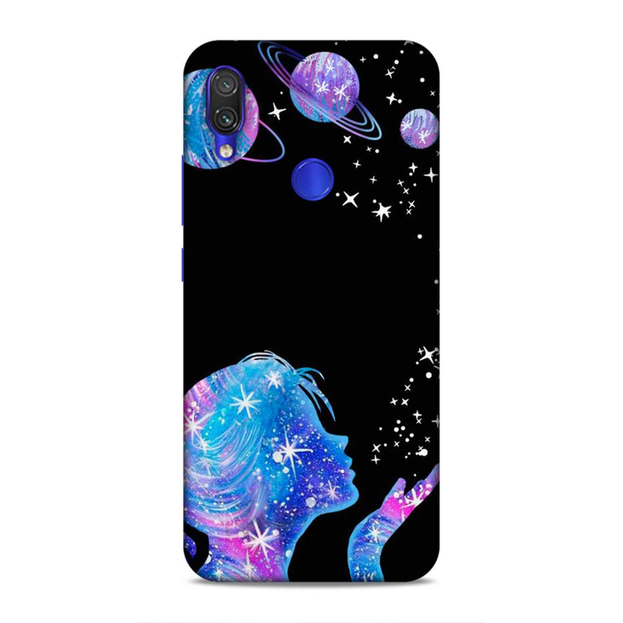 Soft Phone Case,Phone Cases,Xiaomi Phone Cases,Redmi Note 7 / Note 7 pro soft case,Space