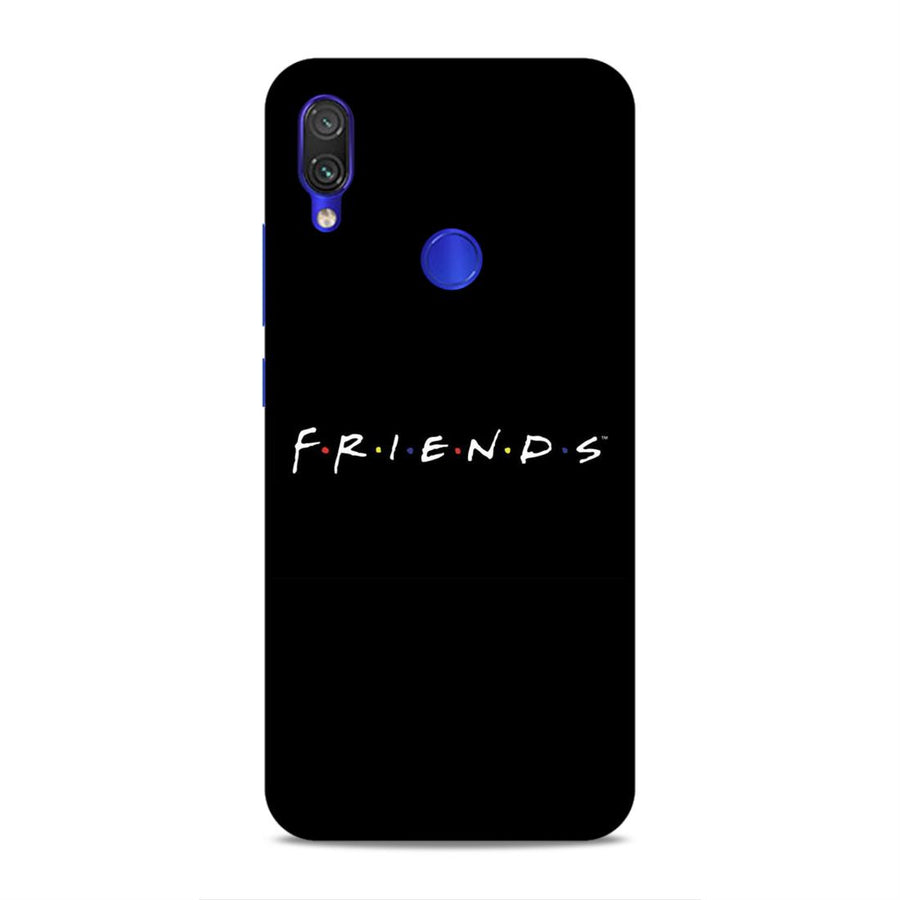 Soft Phone Case,Phone Cases,Xiaomi Phone Cases,Redmi Note 7 / Note 7 pro soft case,Friends