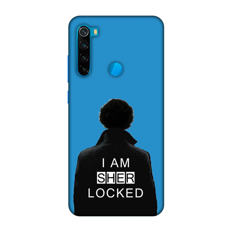 Phone Cases,Xiaomi Phone Cases,Redmi Note 8,Sherlock Holmes