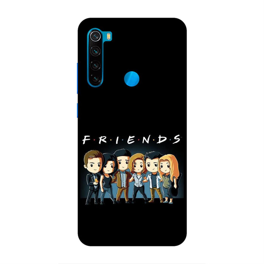Phone Cases,Xiaomi Phone Cases,Redmi Note 8,Friends