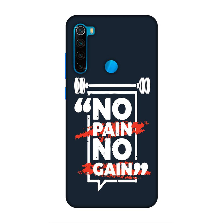 Phone Cases,Xiaomi Phone Cases,Redmi Note 8,Gym
