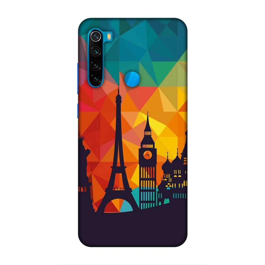 Phone Cases,Xiaomi Phone Cases,Redmi Note 8,Skylines