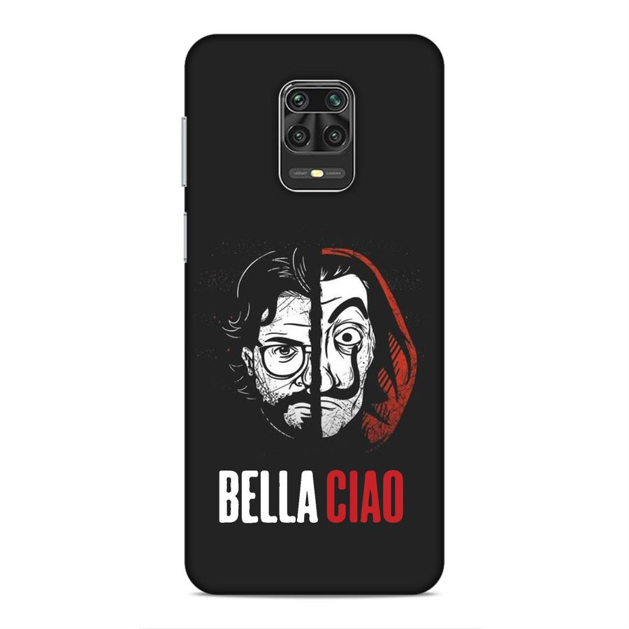 Money Heist Redmi Note 9 Pro Mobile Back Cover cx930