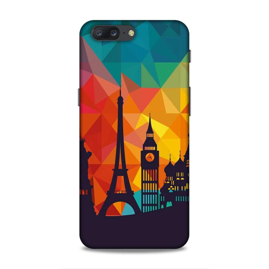 Skylines OnePlus 5 Mobile Back Cover nx656