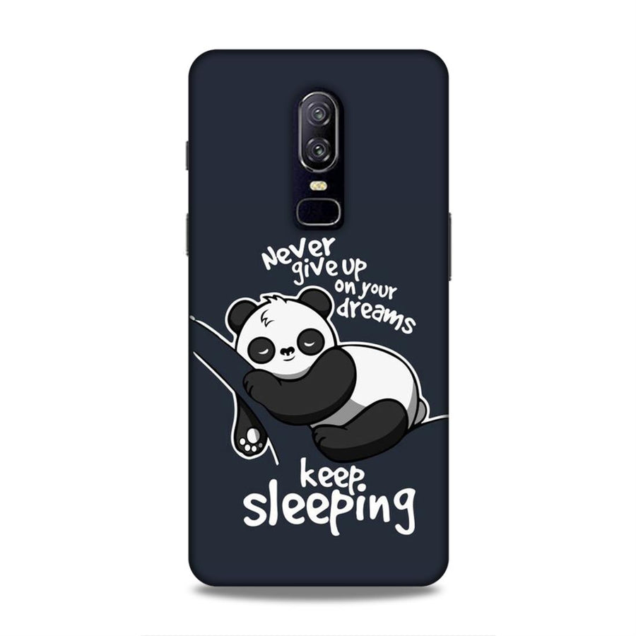 Cartoon  OnePlus 6 Mobile Back Cover nx146