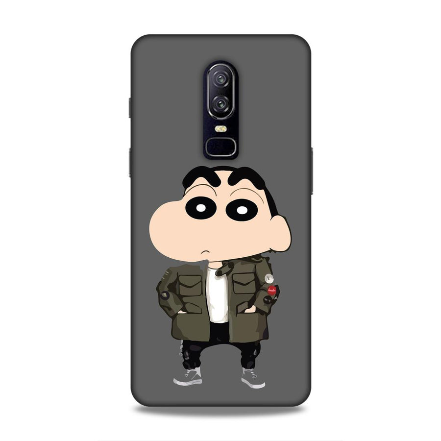 Shinchan  OnePlus 6 Mobile Back Cover nx168