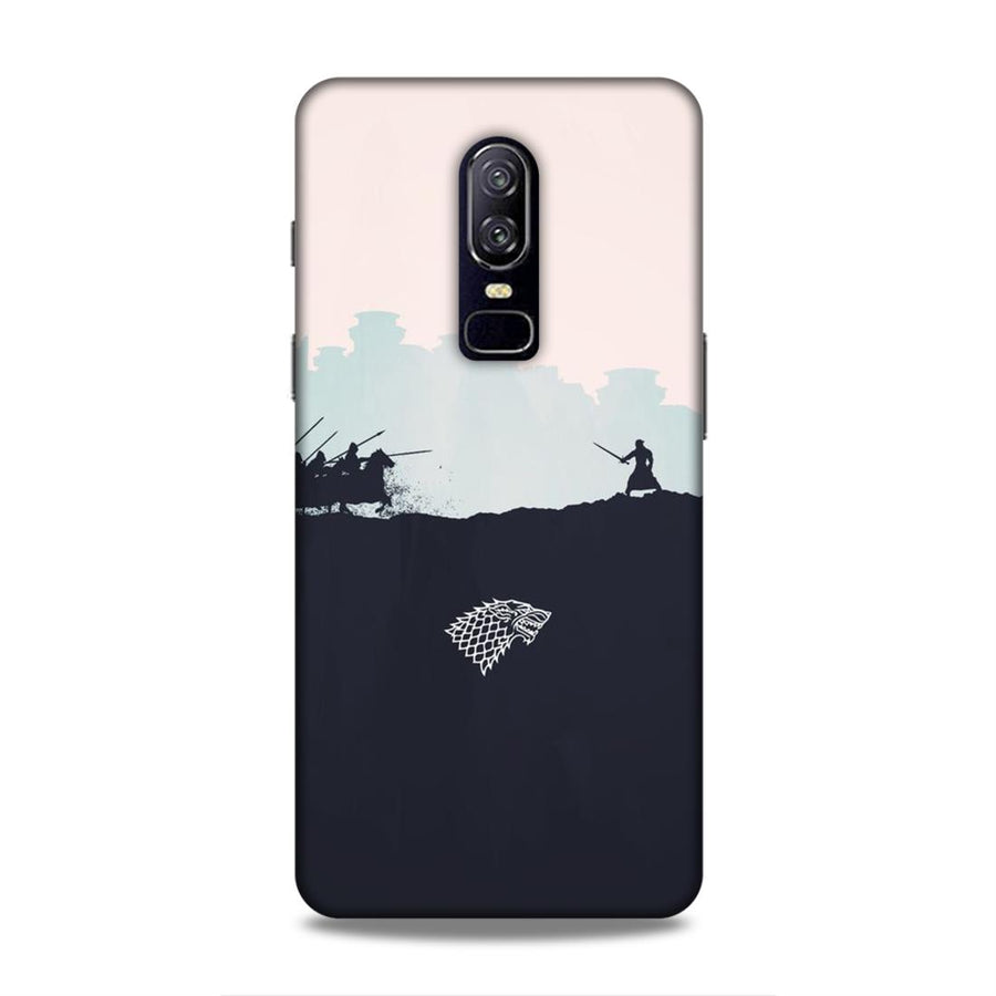 Game Of Thrones OnePlus 6 Mobile Back Cover nx220
