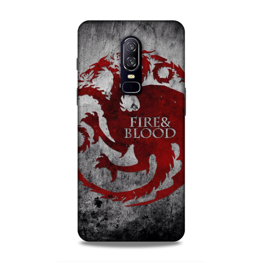 Game Of Thrones OnePlus 6 Mobile Back Cover nx223