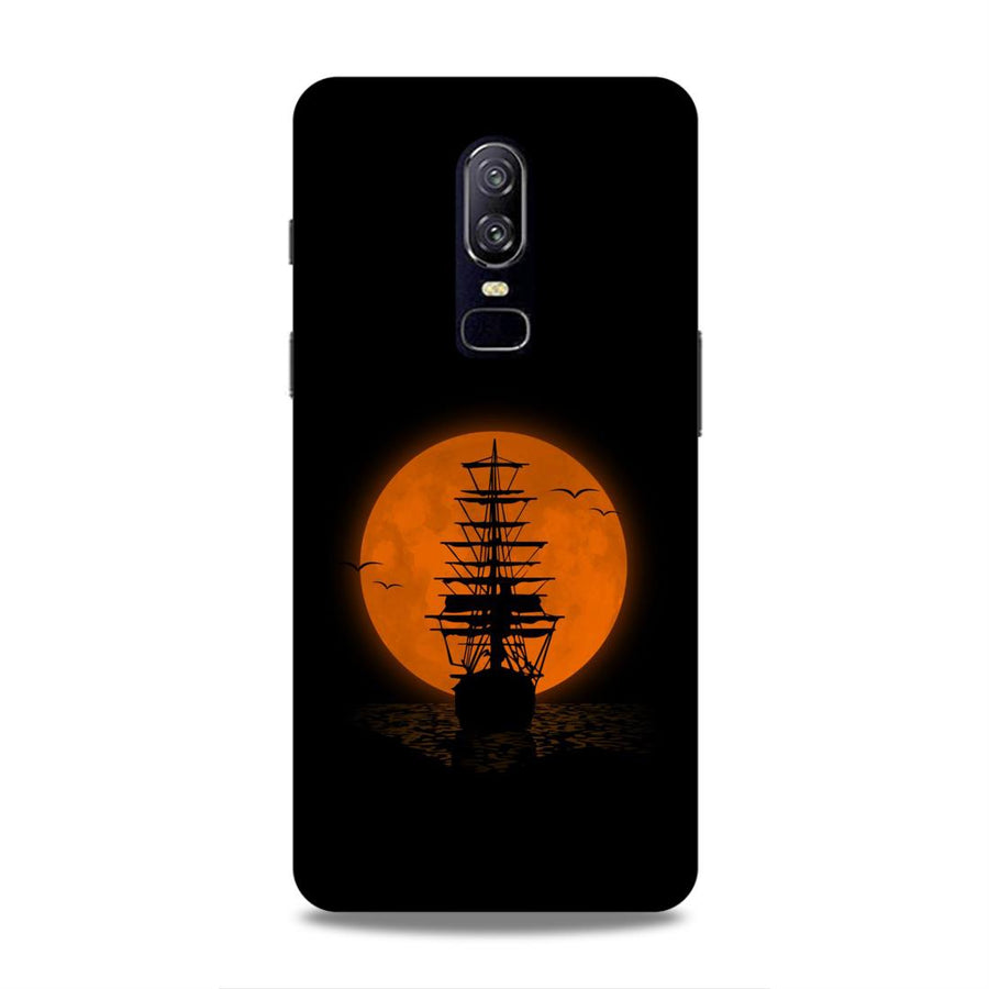 Space OnePlus 6 Mobile Back Cover nx405