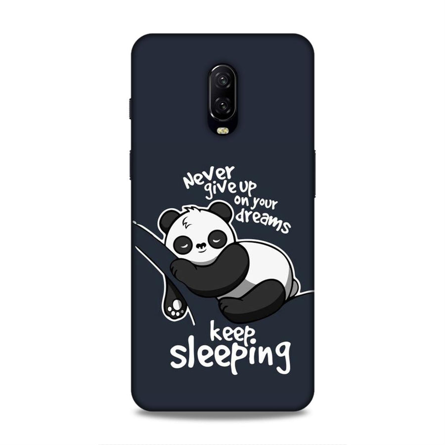Cartoon  OnePlus 6t Mobile Back Cover nx146