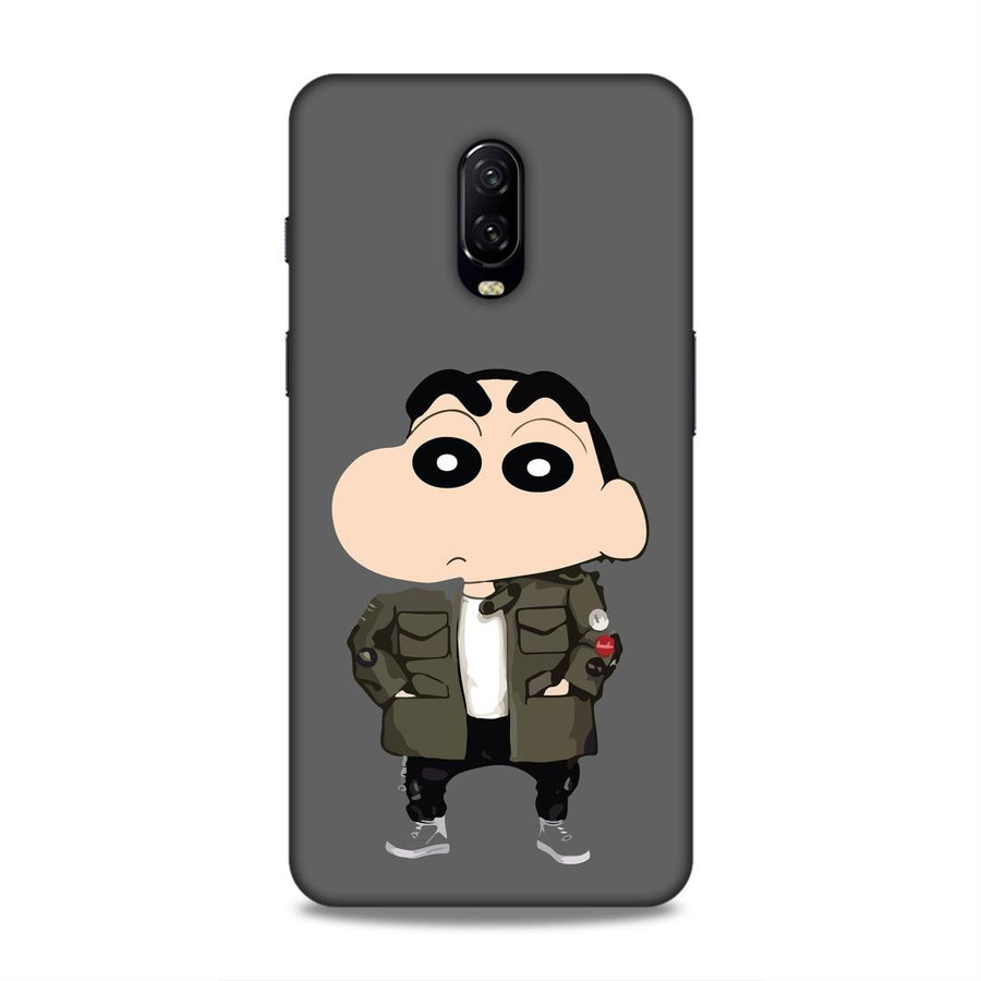 Shinchan  OnePlus 6t Mobile Back Cover nx168