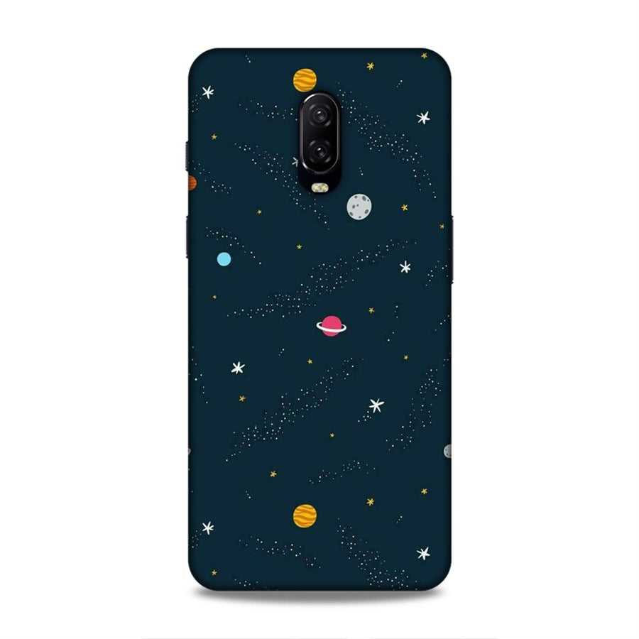 Space OnePlus 6t Mobile Back Cover nx409