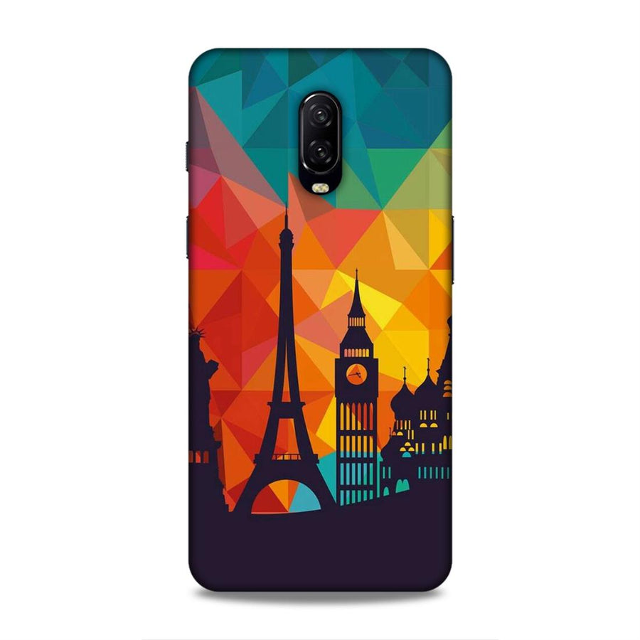 Skylines OnePlus 6t Mobile Back Cover nx656