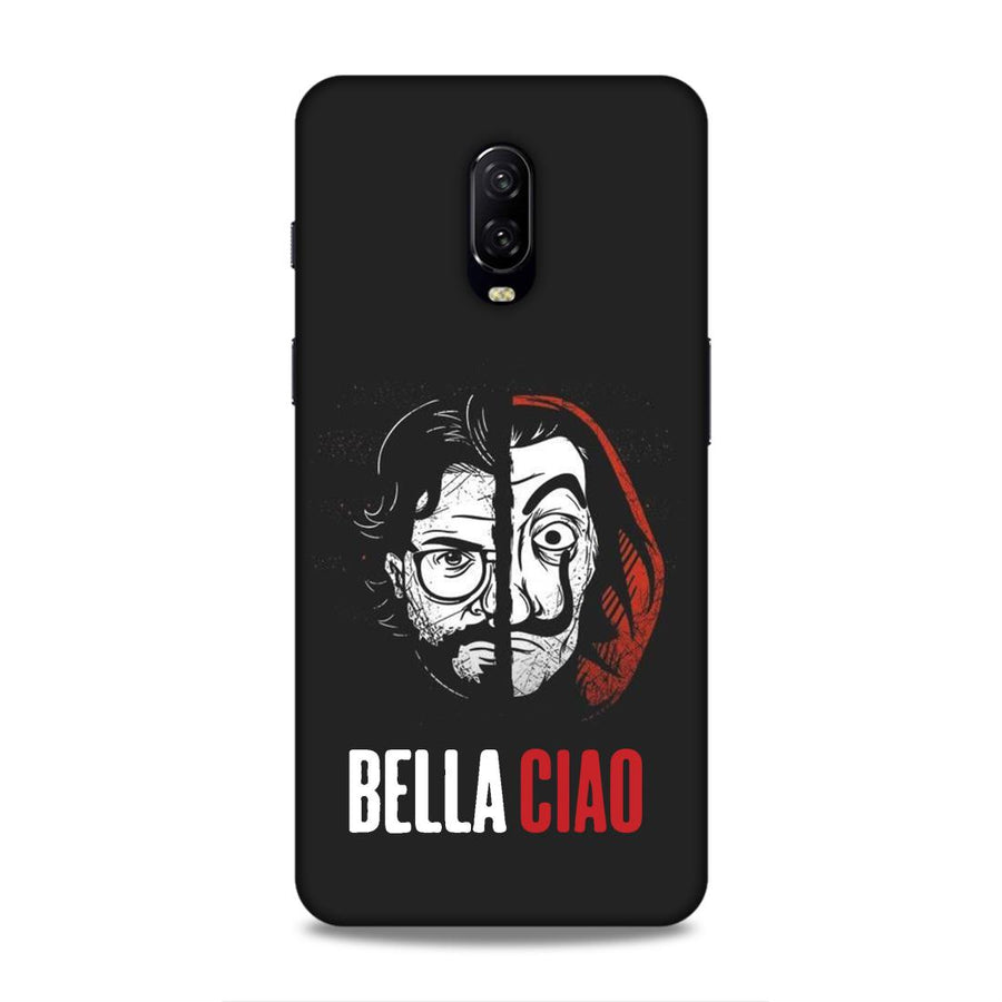 Money Heist OnePlus 6t Mobile Back Cover nx929