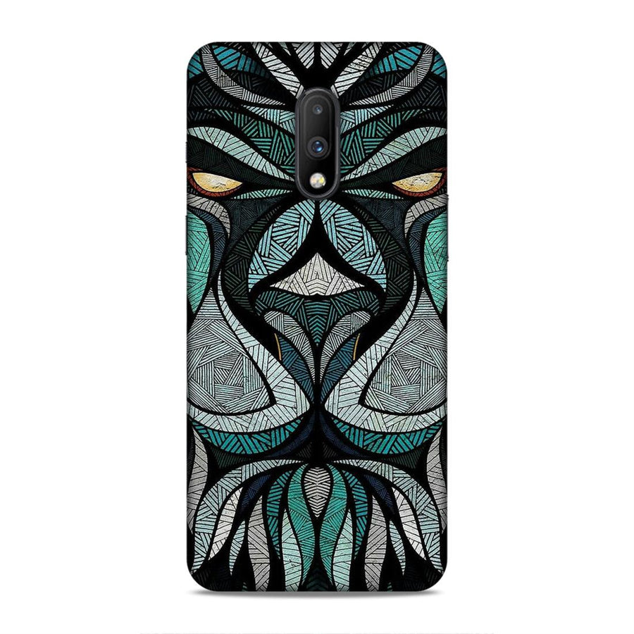 Abstract Oneplus 7 Mobile Back Cover nx35