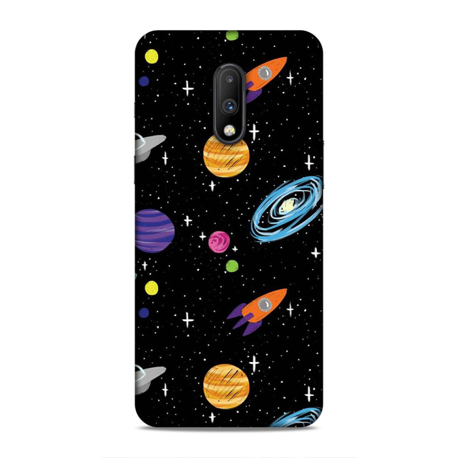 Space Oneplus 7 Mobile Back Cover nx397