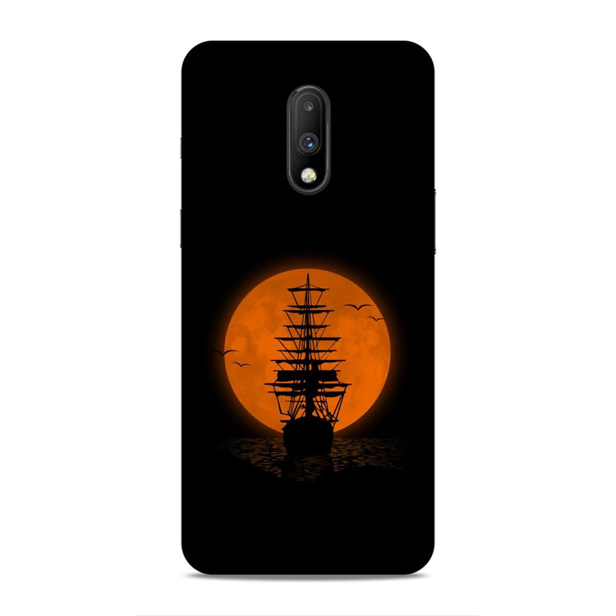 Space Oneplus 7 Mobile Back Cover nx405