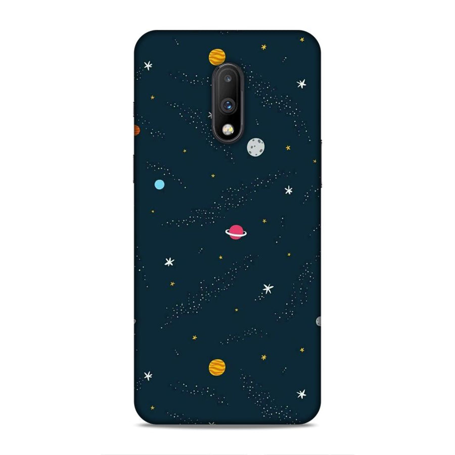 Space Oneplus 7 Mobile Back Cover nx409