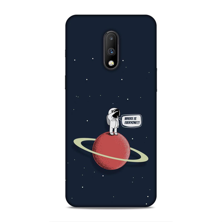 Space Oneplus 7 Mobile Back Cover nx412