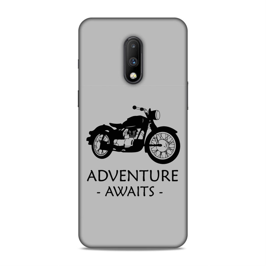 Typography Oneplus 7 Mobile Back Cover nx532