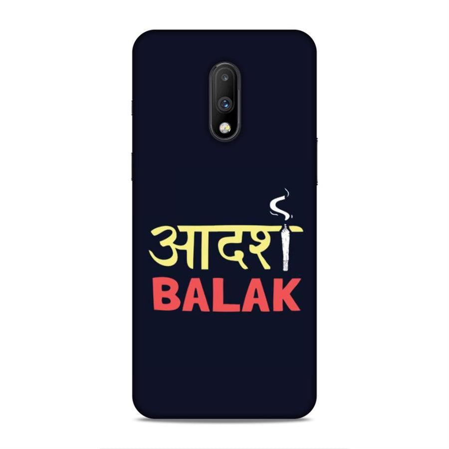 Typography Oneplus 7 Mobile Back Cover nx621