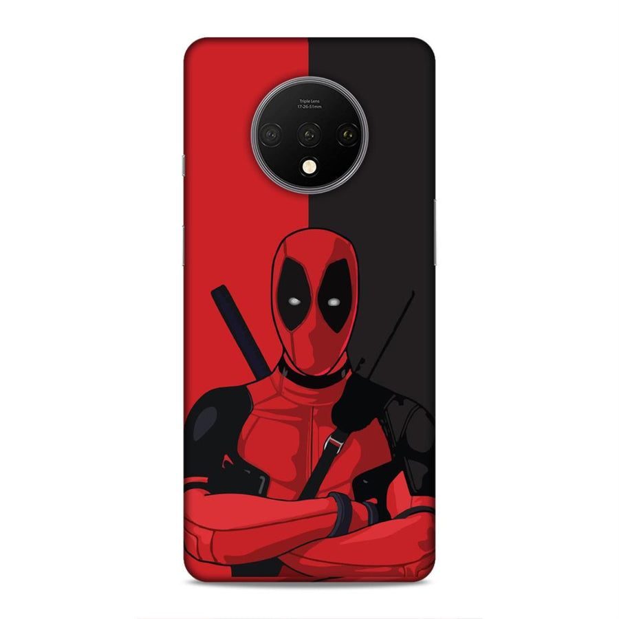 Deadpool Oneplus 7T Mobile Back Cover nx295