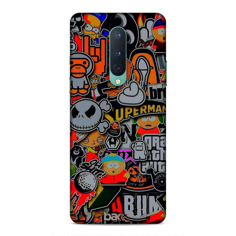 Abstract Oneplus 8 Mobile Back Cover cx791