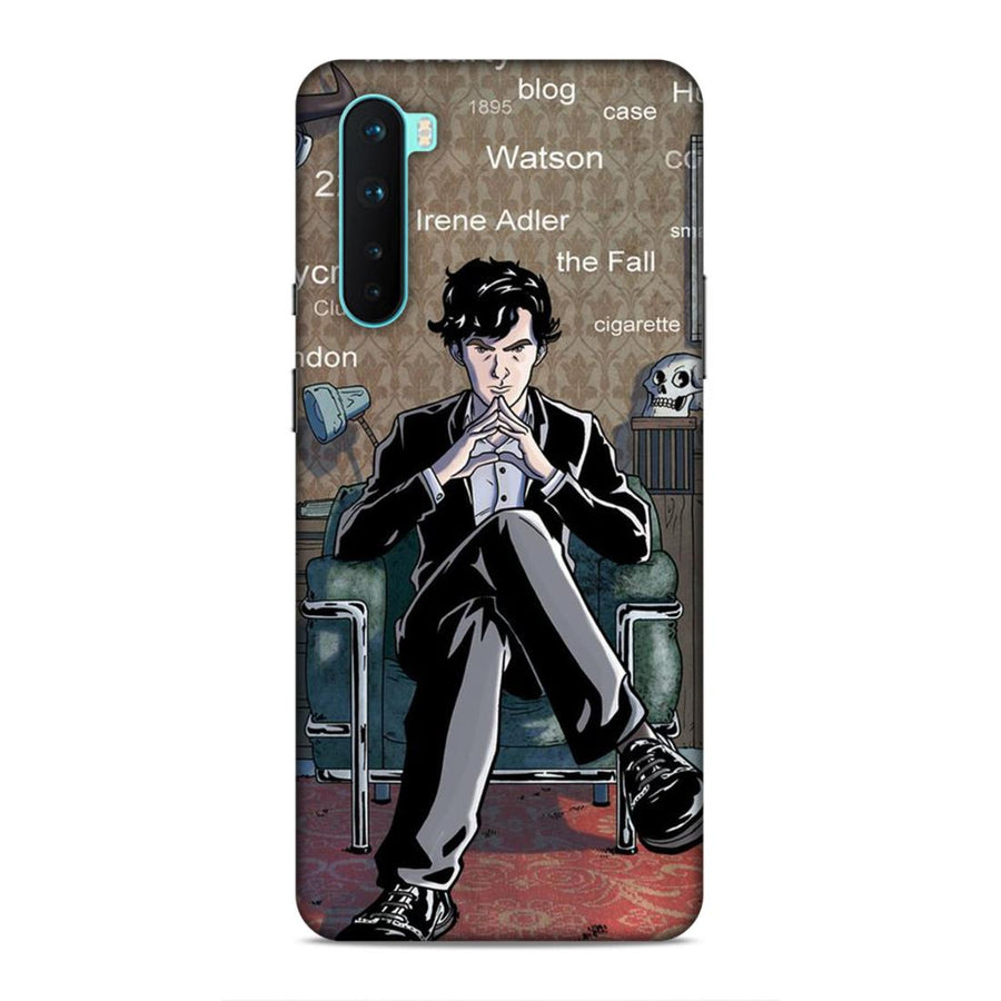 Sherlock Holmes Oneplus Nord Mobile Back Cover cx862