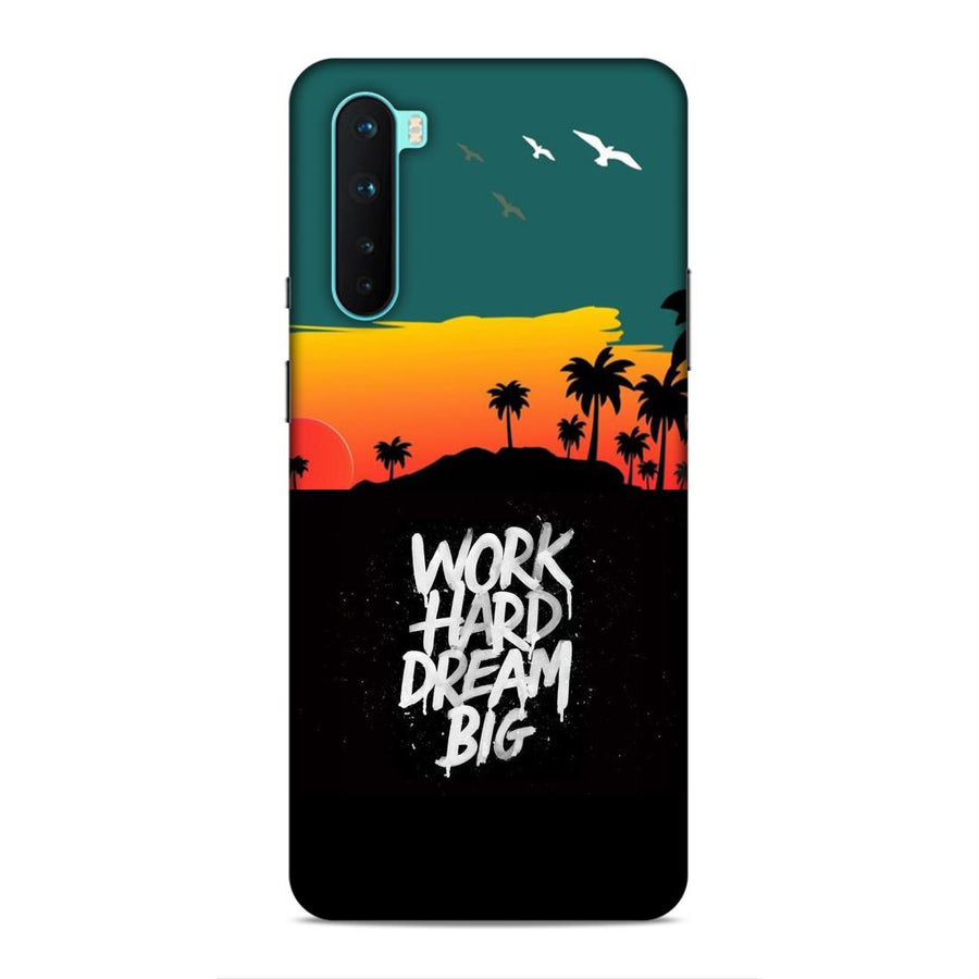 Typography Oneplus Nord Mobile Back Cover nx976