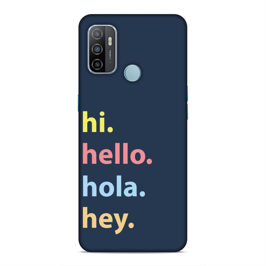 Phone Cases,Oppo Phone Cases,Oppo A53,Typography
