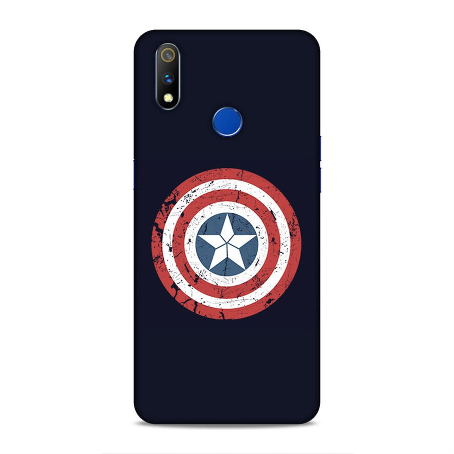 Captain America Real Me 3 Pro Mobile Back Cover nx280