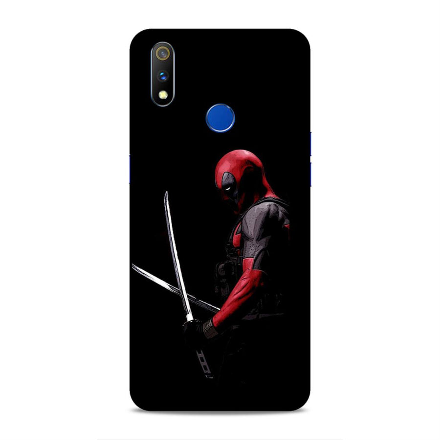 Deadpool Real Me 3 Pro Mobile Back Cover nx284
