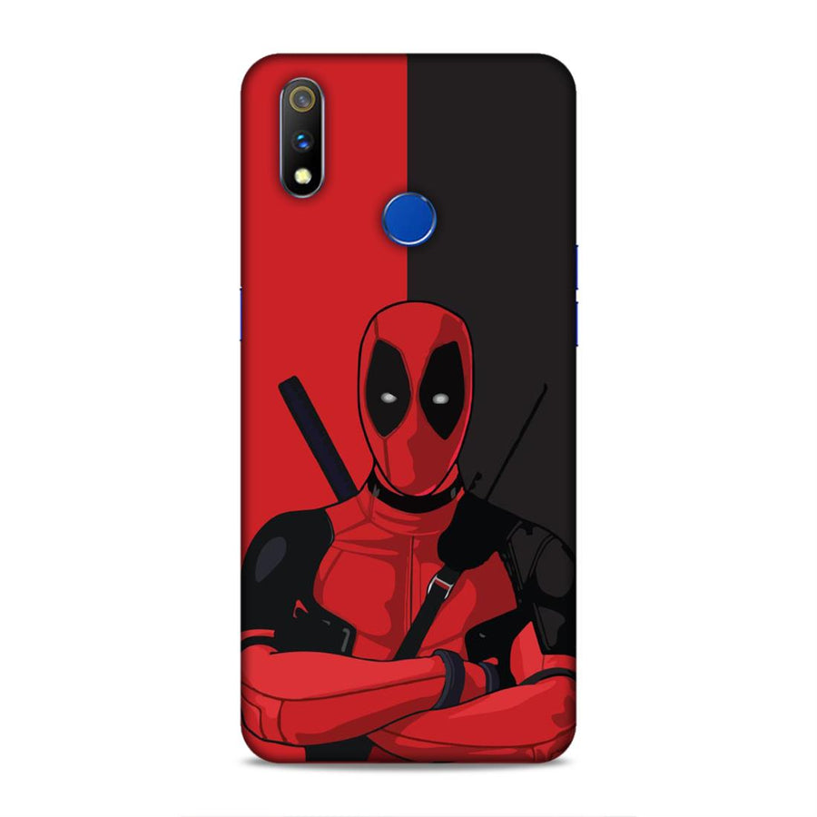 Deadpool Real Me 3 Pro Mobile Back Cover nx295
