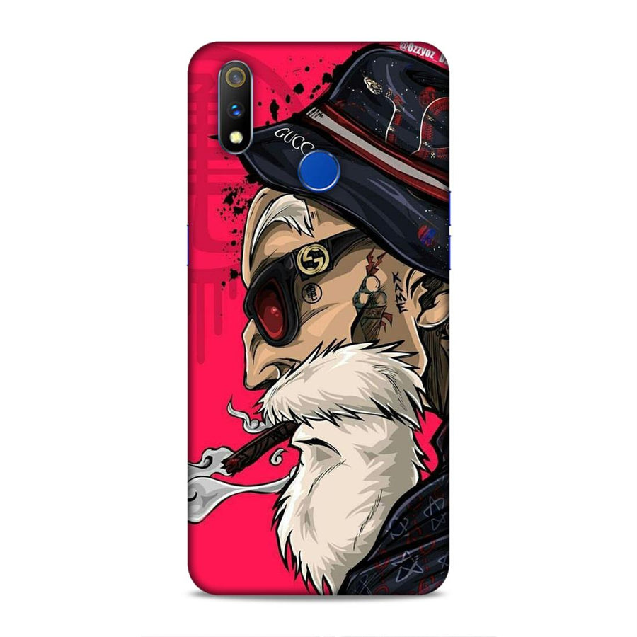 Beard Real Me 3 Pro Mobile Back Cover nx376