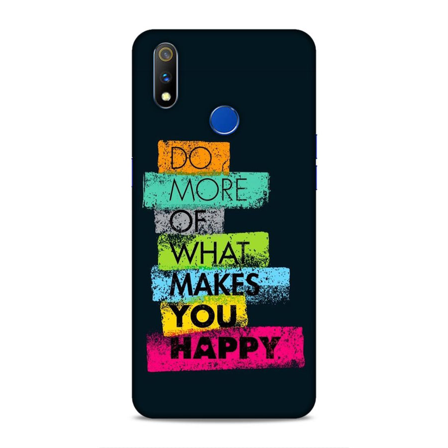 Typography Real Me 3 Pro Mobile Back Cover nx502