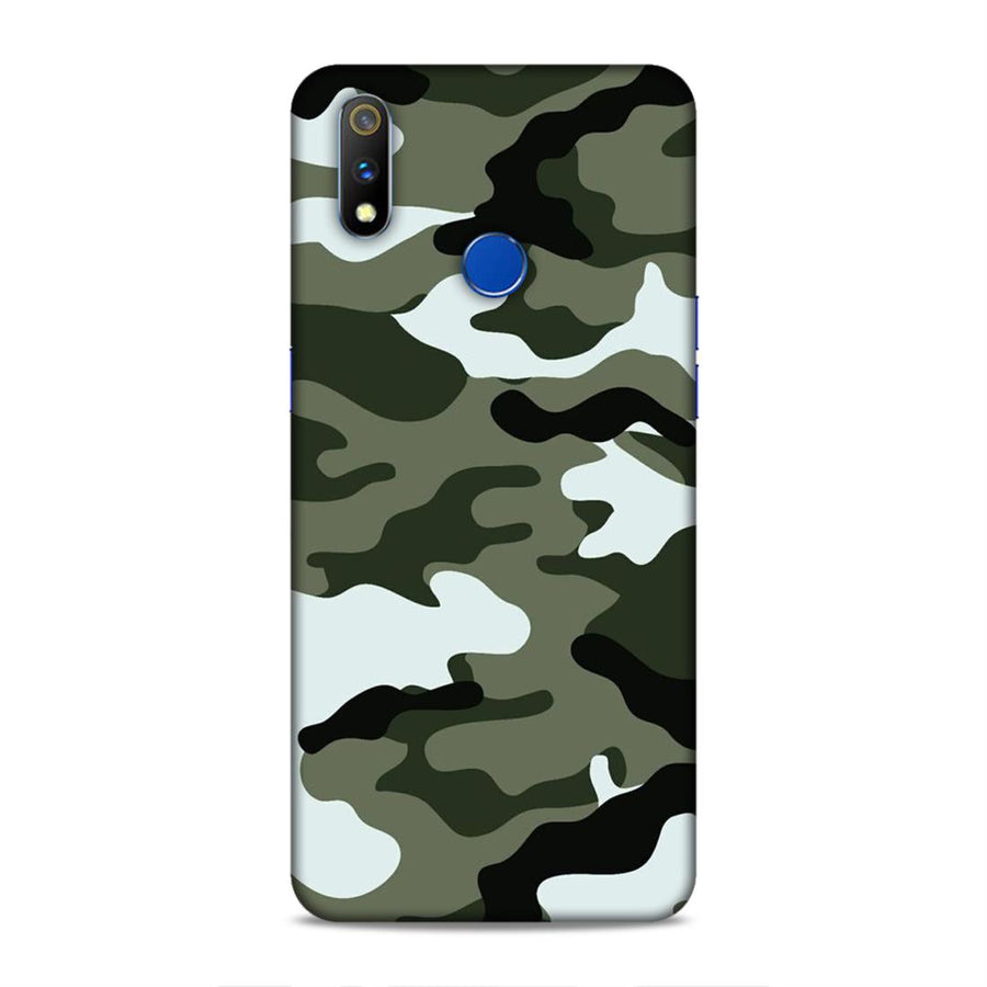 Pubg  Real Me 3 Pro Mobile Back Cover nx597