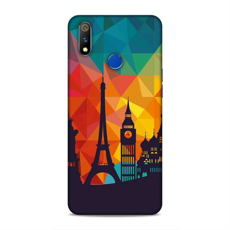 Skylines Real Me 3 Pro Mobile Back Cover nx656
