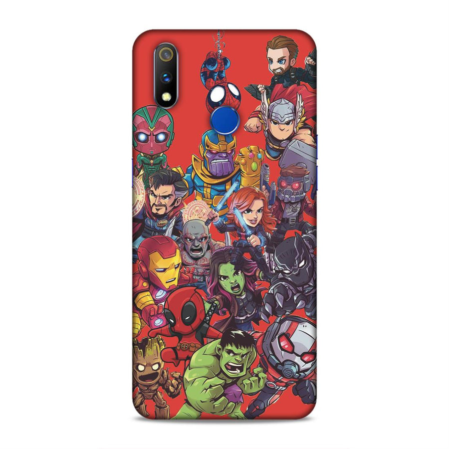 Avengers Real Me 3 Pro Mobile Back Cover Nx685