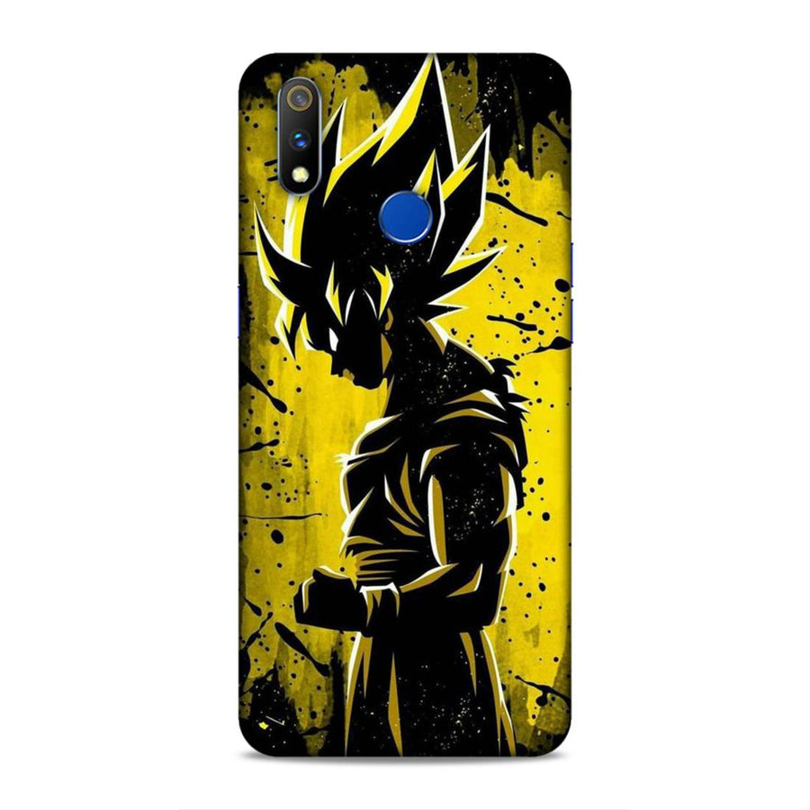 Goku  Real Me 3 Pro Mobile Back Cover nx81