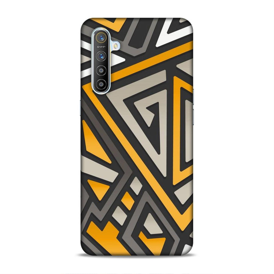 Abstract Real Me Xt Mobile Back Cover nx699