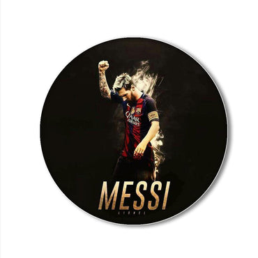 Messi Printed Pop Snap Grip