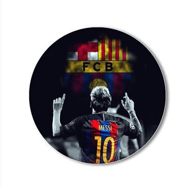 Messi FCB Printed Pop Snap Grip