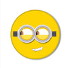 Minion Face Printed Pop Snap Grip