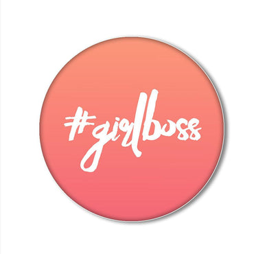GirlBoss Printed Pop Snap Grip