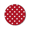Feminine-Polka Dots Printed Pop Snap Grip