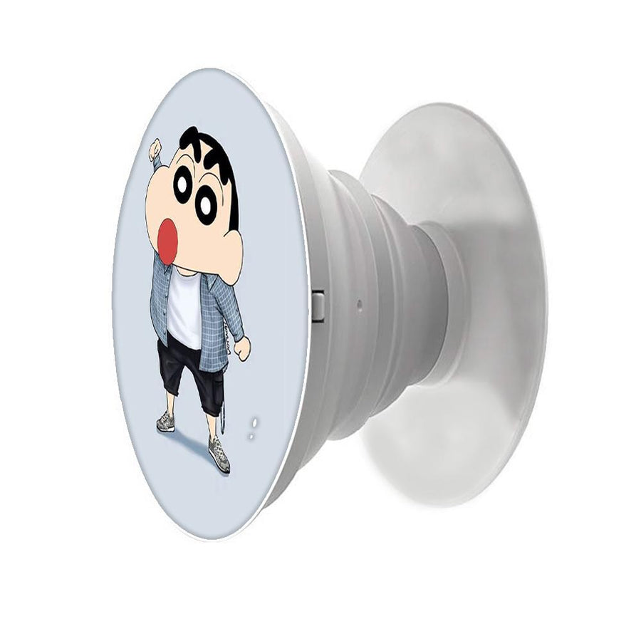 Shinchan Printed Pop Snap Grip