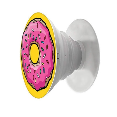 Feminine-Donut Printed Pop Snap Grip